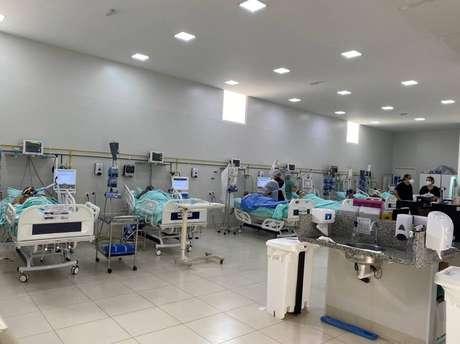Com UTI lotada, hospital Nossa Senhora da Piedade ficou sem insumos para intubados, em Lençóis Paulista