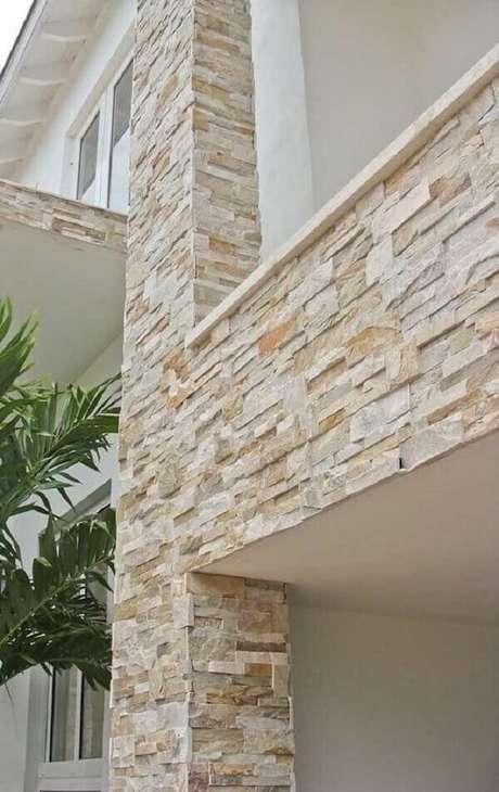 29. Pedra São Tomé é um dos tipos de pedras para revestimento. Fonte: Pinterest