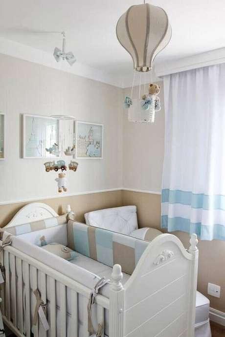 34. Lustre para quarto infantil de balão – Foto RevistaVD