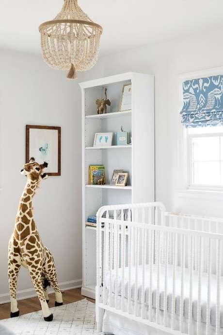 49. Quarto com lustre infantil rustico – Foto Picture Perfect house