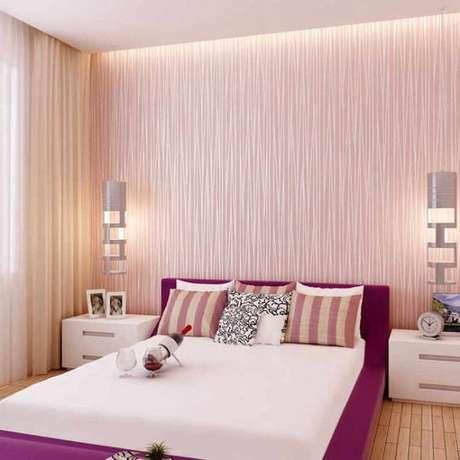 15. Papel de parede rosa textura – Foto Arkpad
