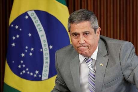 Braga Netto durante evento em Brasília  25/3/2020 REUTERS/Ueslei Marcelino