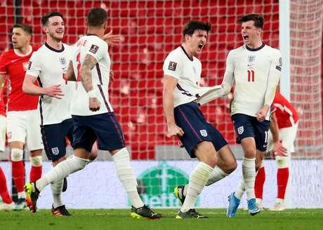 Maguire decide, e Inglaterra vence a Polônia pelas Eliminatórias