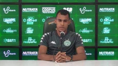 Jogador está no Bugre desde janeiro do ano passado (Thiago Marostegan/Guarani FC)