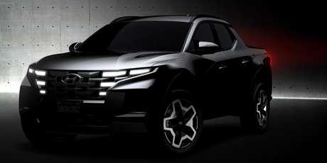 Hyundai Santa Cruz: inédita picape coreana chega no próximo verão nos EUA.