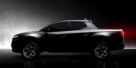 Hyundai Santa Cruz será uma picape compacta, do porte da  Renault Oroch e da Fiat Toro.