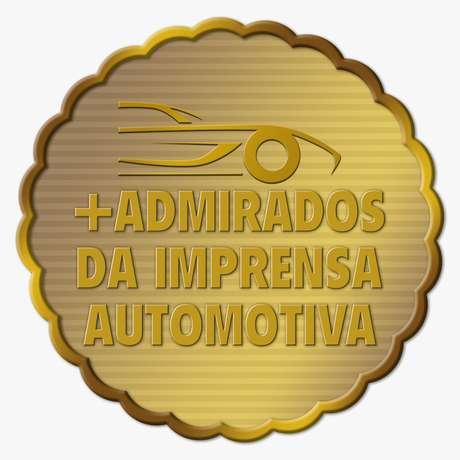 Selo do prêmio +Admirados da Imprensa Automotiva: votação aberta para o público em 2021.