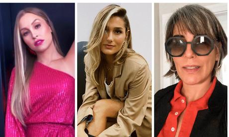 Carla Diaz, Sasha e Gloria Pires (Fotos: Reprodução/Instagram)