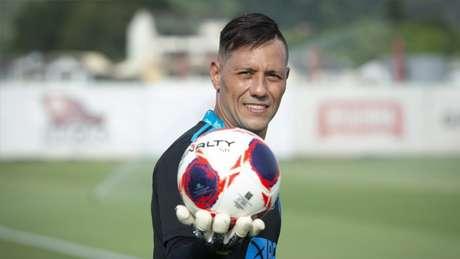 Diego Alves retornou em jogo contra o Bangu, nesta quarta (Foto: Alexandre Vidal/Flamengo)