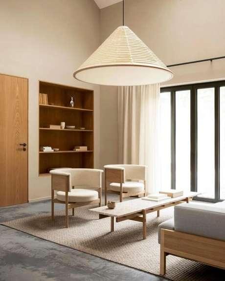 """6. A frase """"menos é mais"""" é levada muito a sério no estilo japandi. Fonte: Norm Archtects"""