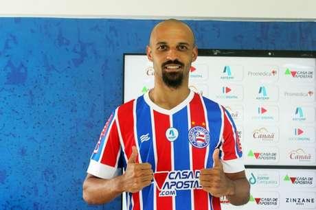 Jogador estava desde 2018 no Grêmio e chega pro empréstimo (Divulgação/EC Bahia)