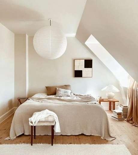 9. O estilo japandi valoriza a entrada de luz natural no ambiente. Fonte: Polken Studio