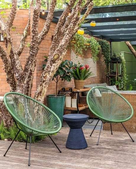 12. Cadeira para área externa acapulco – Foto Pinteret