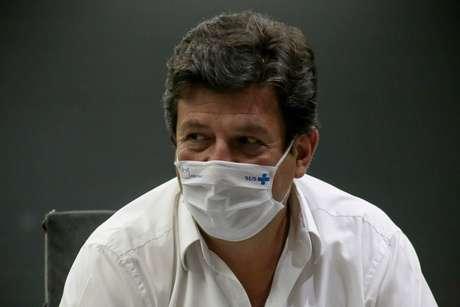 O ex-ministro da Saúde Luiz Henrique Mandetta (DEM-MS)