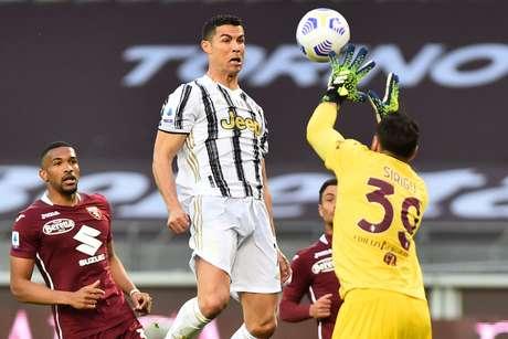 Cristiano Ronaldo deixou a sua marca em empate da Juventus