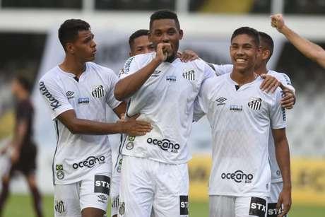 Sabino rescindiu o contrato com o Santos e vai defender o Sport do Recife (Foto: Ivan Storti/Santos FC)