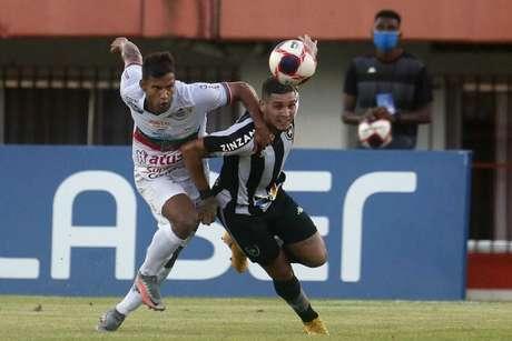 Botafogo e Portuguesa ficaram no empate (Foto: Divulgação Twitter Botafogo)