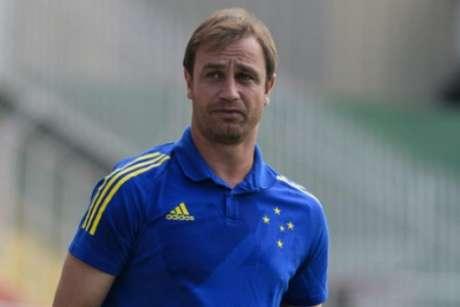 Felipe Conceição elogiou a atuação do time e viu nova evolução da equipe-(Gustavo Aleixo/Cruzeiro)