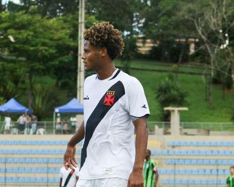 João Pedro iniciou a jogada do terceiro gol do Vasco (foto: Arquivo Pessoal)