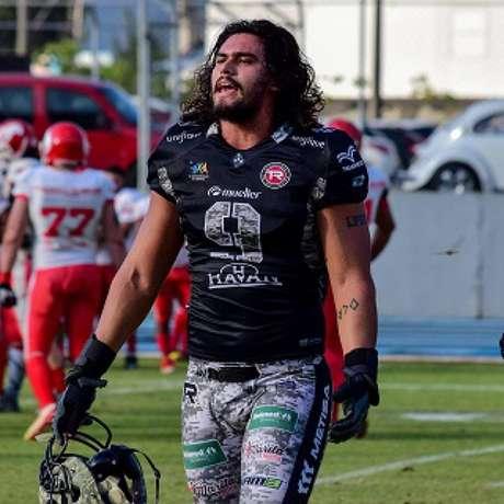 Luis Polastri (Timbó Rex) será um dos três brasileiros no draft da CFL, em abril-(Divulgação/Arquivo Pessoal)
