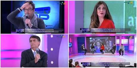 A gafe envolvendo a orientação sexual de Agnaldo Timóteo foi testemunhada por Bolsonaro, que participava do 'Superpop'
