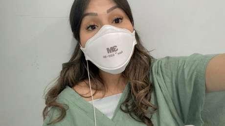 Ana Paula Arias, de 25 anos, médica recém-formada de Unidade de Pronto-Atendimento (UPA) em Guarulhos