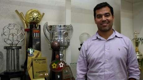 João Paulo Sampaio, o coordenador das categorias de base do Palmeiras (Foto: Divulgação/SE Palmeiras)