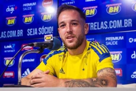 Bruno José já está mais ambientado à Raposa e espera subir ainda mais de rendimento na equipe-(Gustavo Aleixo/Cruzeiro)