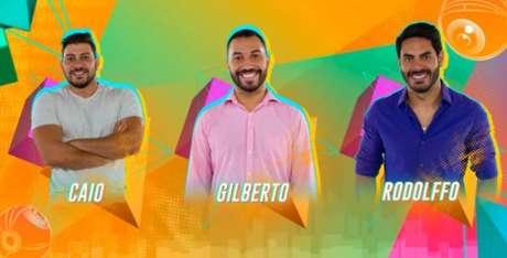 Caio, Gil e Rodolffo formam décimo paredão do BBB21