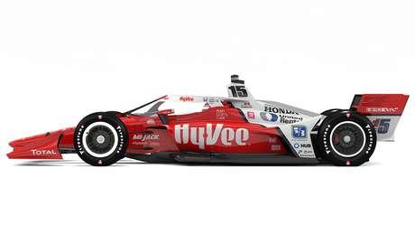 Hy-Vee também vai patrocinar Graham Rahal em duas corridas (Foto; Reprodução/RLL)