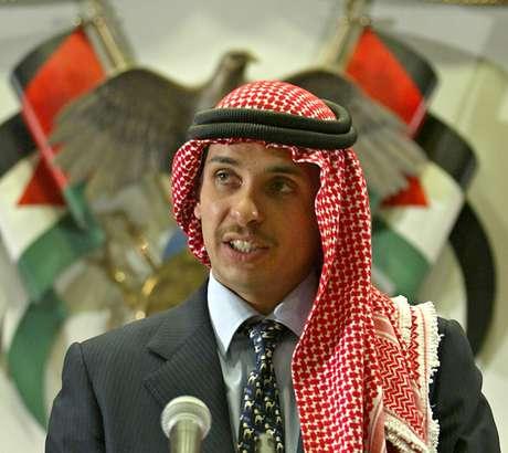 Príncipe da Jordânia Hamza bin Hussein   21/8/2004   REUTERS/Ali Jarekji