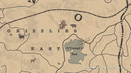 Localização do Urso-cinzento Lendário Bharati no mapa