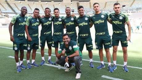 A base do Verdão tem prosperado recentemente com títulos nacionais e internacionais (Foto: Cesar Greco/Palmeiras)