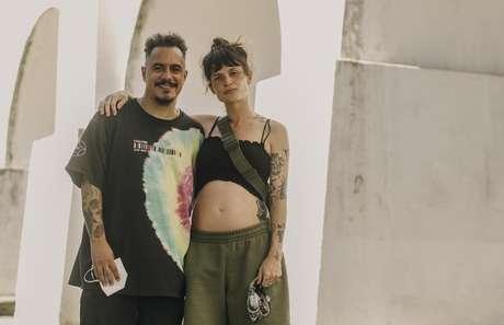Marcelo D2 e Luiza Machado