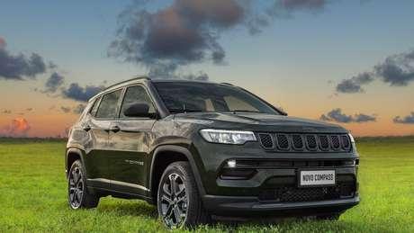 Jeep Compass 2022 Série 80 Anos: R$ 162.990.