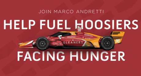 Carro de Marco Andretti para a Indy 500 de 2021