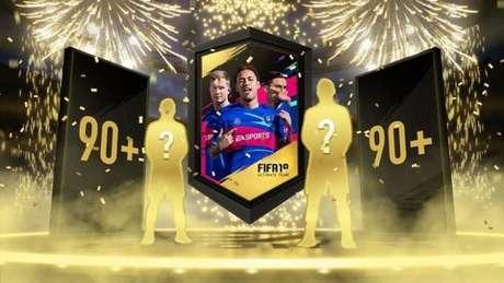 Loot boxes dos jogos da franquia FIFA