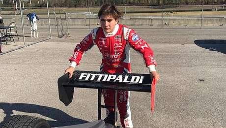 Enzo Fittipaldi é o estreante mais rápido em teste de categoria de acesso da Indy.