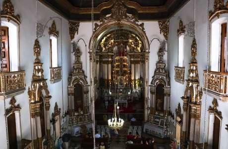 Um episódio semelhante ocorreu na Igreja do Senhor do Bonfim, em Salvador, quando o Brasil vivia o pânico da gripe de 1918