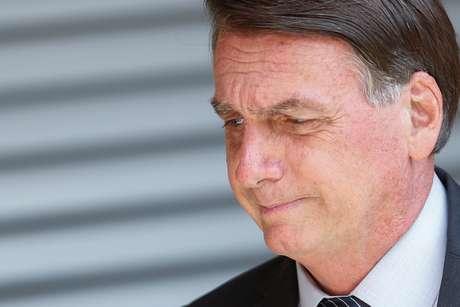 Presidente Jair Bolsonaro em Brasília 05/04/2021 REUTERS/Adriano Machado
