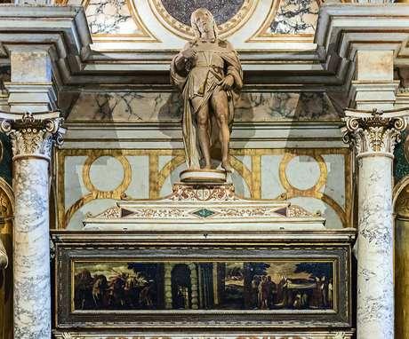 Roque de Montpellier (c.1295-1327), santo da Igreja Católica, é considerado o protetor contra a peste e outras doenças contagiosas