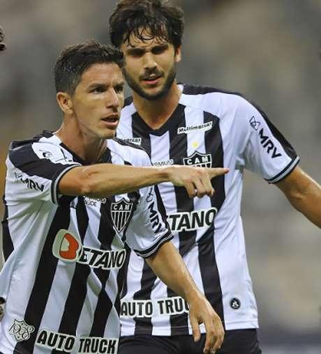O Galo conta mais uma vez com o futebol de Nacho Fernández para sair com os três pontos-(Pedro Souza/Atlético-MG)