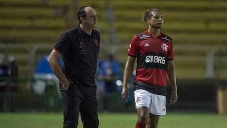 Fla de Rogério Ceni goleou o Madureira por 5 a 1 (Foto: Marcelo Cortes / Flamengo)