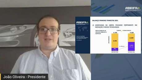 João Oliveira mostra o crescimento de elétricos e híbridos.