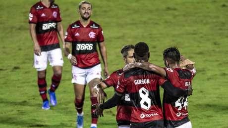 Flamengo goleou o Madureira por 5 a 1 (Foto: Marcelo Cortes/Flamengo)