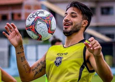Vandinho está confiante na classificação do Rio Branco (Divulgação/assessoria do jogador)