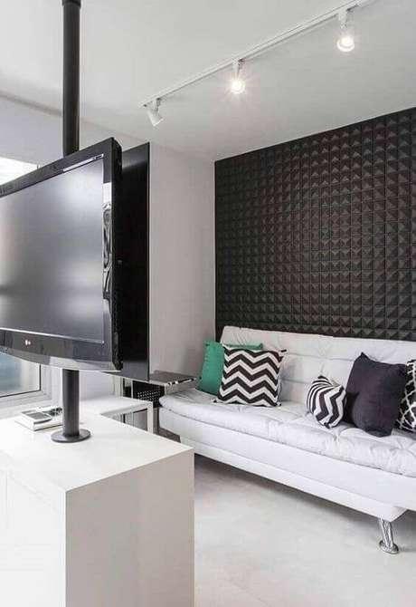 55. Azulejo 3D para sala de estar moderna – Foto Arkpad
