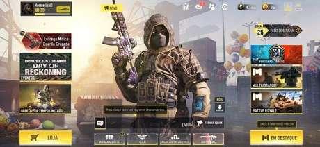 Clicar em eventos para ganhar CP em Call of Duty: Mobile