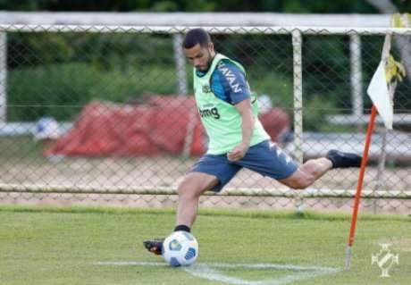 Morato pode ser titular e estrear nesta quarta (Rafael Ribeiro/Vasco)