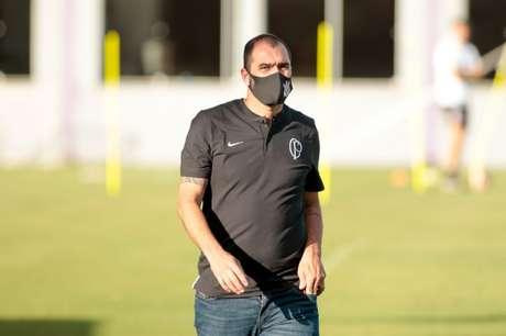 Ídolo corintiano, ex-meia Danilo hoje comanda equipe sub-23 do Timão(Foto: Rodrigo Coca/Ag. Corinthians)